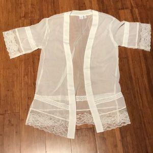 Cream colored Kimono